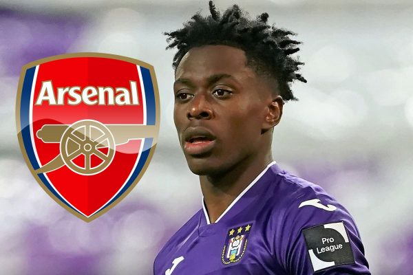 Anderlecht director pointed out that Lokonga was keen on Arsenal.